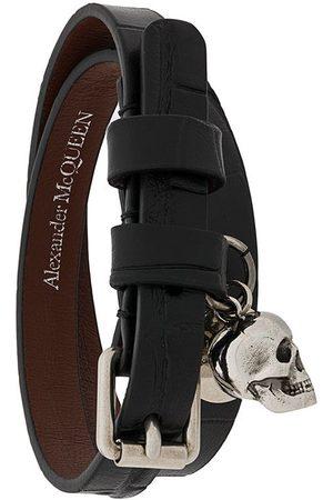 Alexander McQueen Skull wrap bracelet