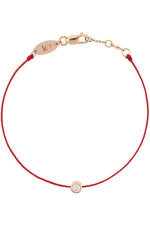 Redline Women Bracelets - 18kt rose and diamond string bracelet