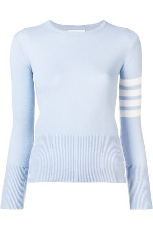 Thom Browne 4-Bar Cashmere Pullover