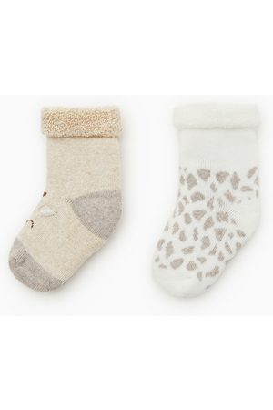 Zara Socks - 2-PACK OF GIRAFFE SOCKS