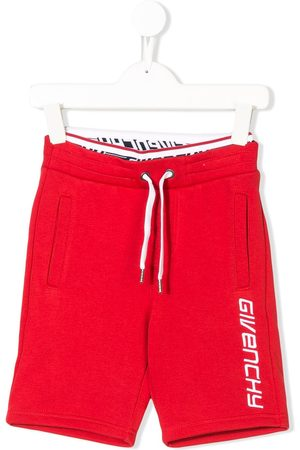 Givenchy Logo embroidered track shorts
