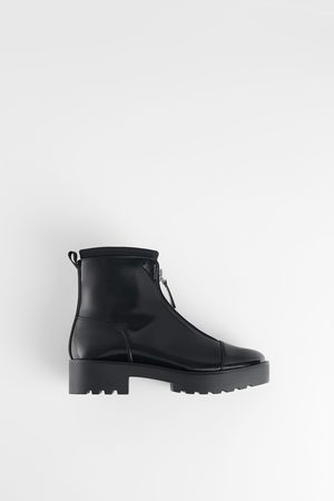 Zara Ankle Boots - TRACK-SOLE ANKLE BOOTS