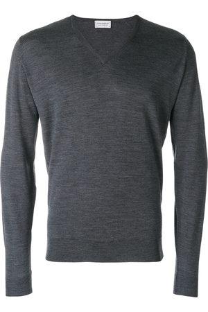 JOHN SMEDLEY V-neck knit jumper