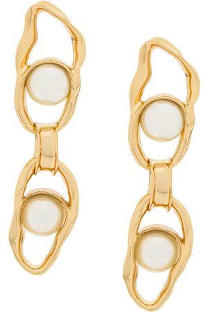 Coup De Coeur Liquid Pearl Chain earrings