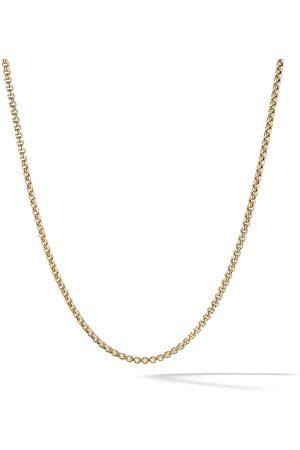 David Yurman 18kt yellow gold Box Chain necklace