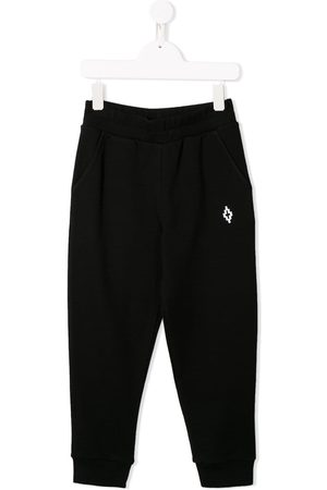 MARCELO BURLON Cross logo track pants