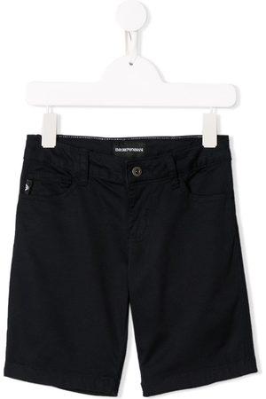 Emporio Armani Kids Denim bermuda shorts