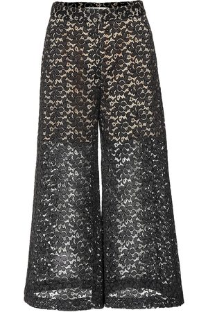 Stella McCartney Cotton-blend lace culottes