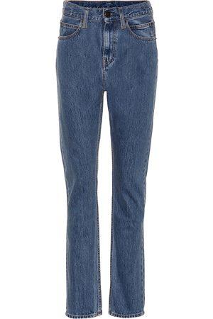Calvin Klein High-rise straight-leg pants