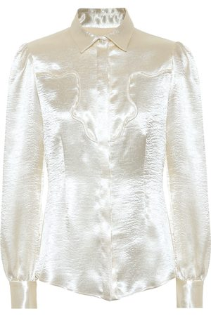 AlexaChung Satin blouse