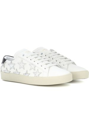 Saint Laurent Women Sneakers - SL/06 Court Classic leather sneakers