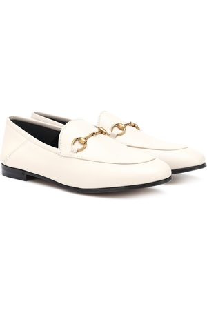 Gucci Girls Loafers - Horsebit leather loafers