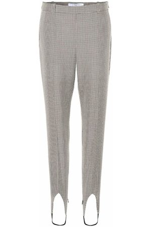Givenchy Mid-rise wool stirrup pants