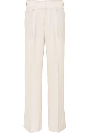 Vince Mid-rise wide-leg pants