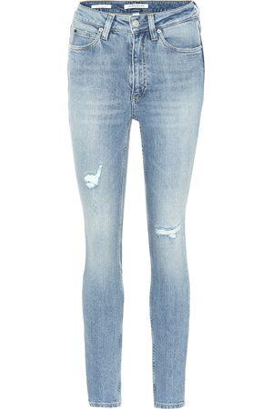 Calvin Klein High-rise skinny jeans