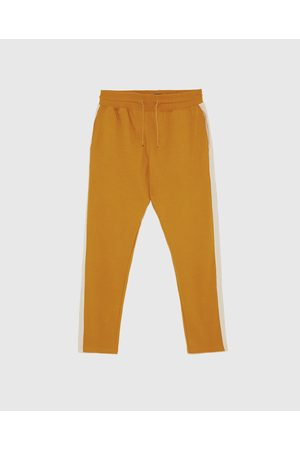 Zara Trousers - JOGGING TROUSERS WITH SIDE STRIPES