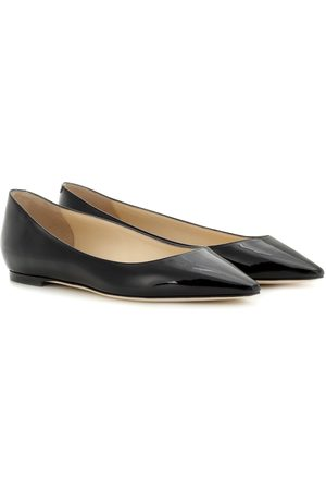 Jimmy Choo Romy patent leather ballet flats