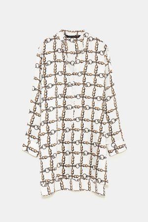 Zara CHAIN PRINT TUNIC