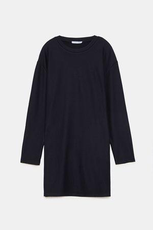 Zara TEXTURED WEAVE DRESS