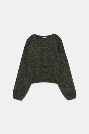 Zara Sweatshirts - PRINTED SWEATSHIRT