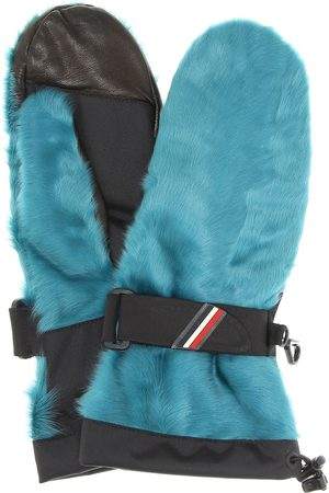 Moncler Shearling leather gloves