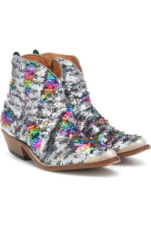 Golden Goose Sequinned cowboy boots