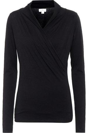 Velvet Meri stretch-cotton jersey top