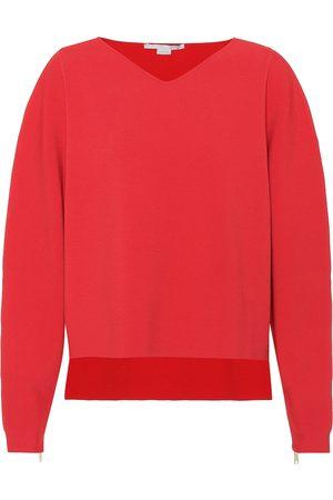 Stella McCartney Oversized crêpe sweater