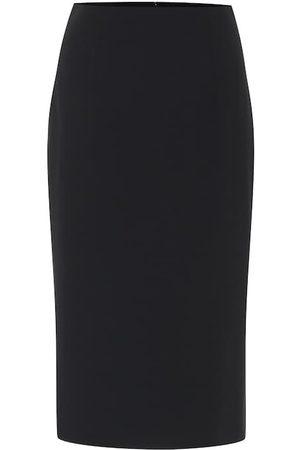 Alexander McQueen Skirts - Crêpe pencil skirt