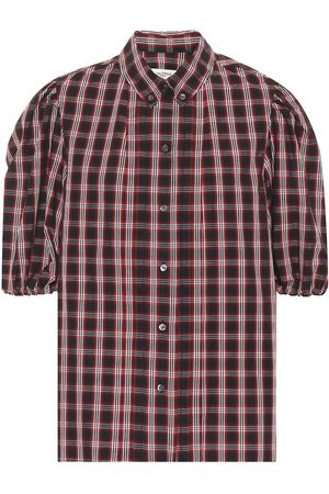 Isabel Marant, Étoile Orem checked cotton shirt