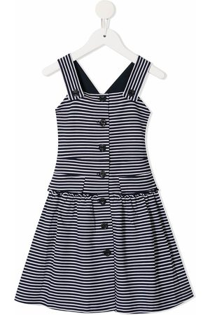 Emporio Armani Striped flared dress