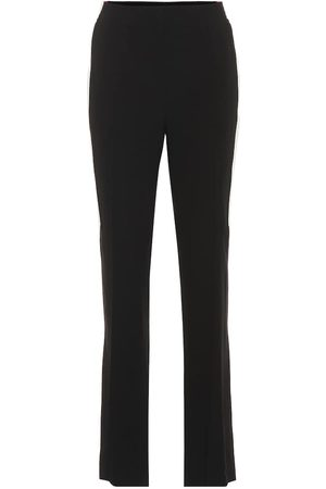 Givenchy High-rise straight crêpe pants