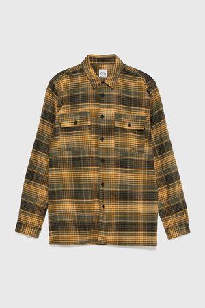 Zara Check flannel shirt