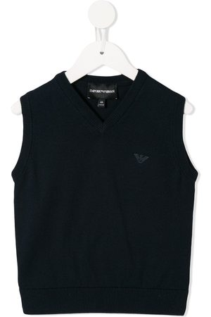 Armani Logo embellished vest