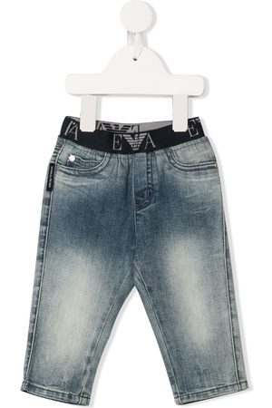 Emporio Armani Elasticated waistband jeans
