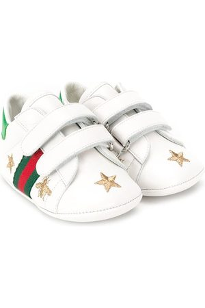 f840ad55fa9 Gucci Bee and star embroidered sneakers .