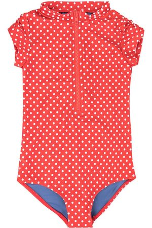 Duskii Girl Girls Swimsuits - Anise dotted swimsuit