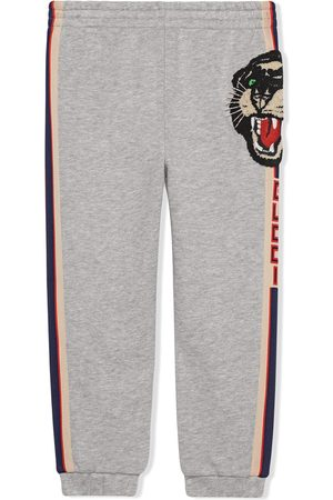 Gucci Girls Trousers - Children's jogging pant with Gucci stripe