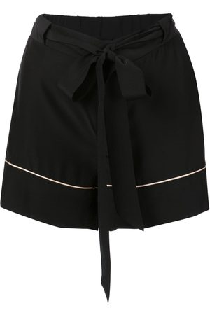Kiki de Montparnasse Tie waist pyjama shorts