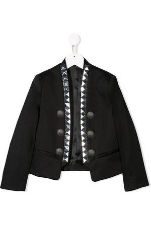 Balmain Studded button-embellished jacket