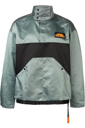 Palm Angels Colour block rain jacket