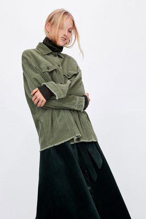 Zara Jackets - CORDUROY JACKET