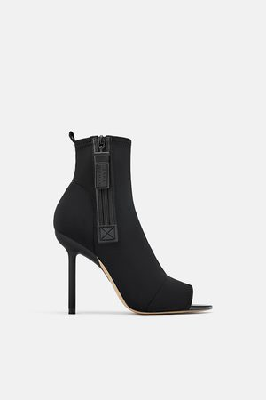 Zara Technical fabric ankle boots