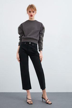 Zara Sweatshirt with beaded taping