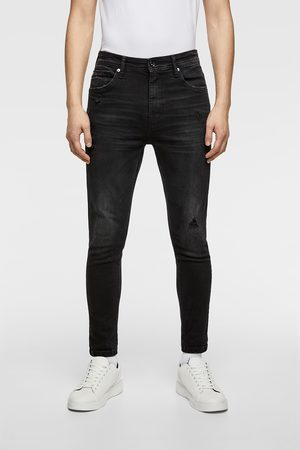 Zara RIPPED CARROT FIT JEANS