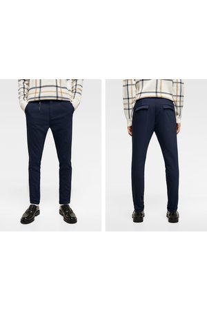Zara FLAP POCKET CHINO TROUSERS