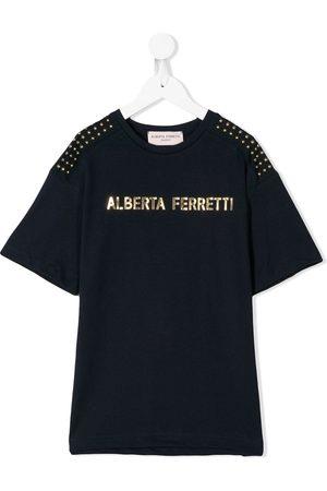 Alberta Ferretti Logo print T-shirt