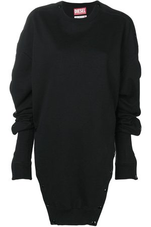 Diesel Red Tag Oversized buttoned sweatshirt