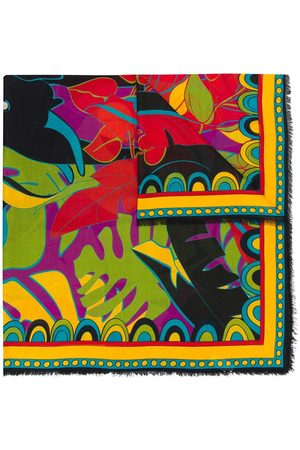 La DoubleJ Women Scarves - Plant print scarf