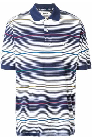 PALACE Striped polo shirt